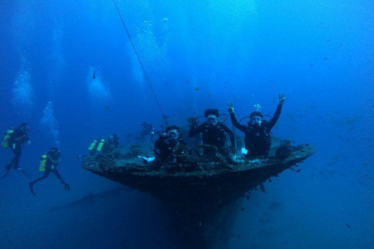 ボート ファンダイビング