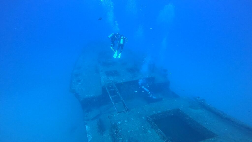 Sea Tiger Wreck